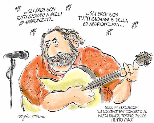 Francesco Guccini Al Forum Di Assago Fabiotordi